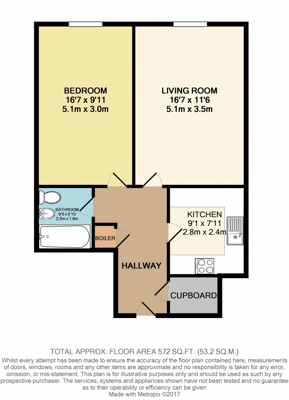 Floorplan for Archway, London