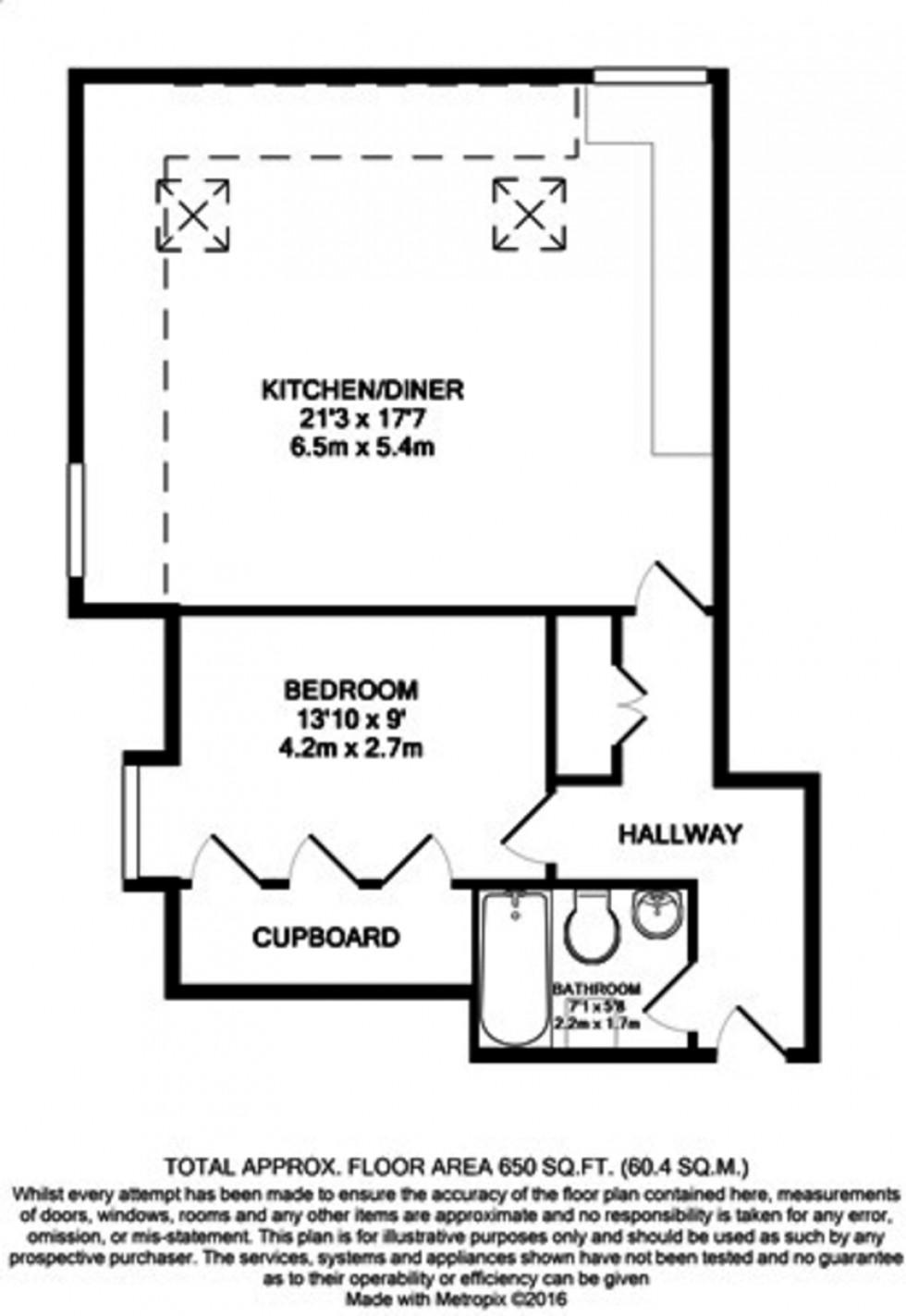 Floorplan for Woodside Park, London